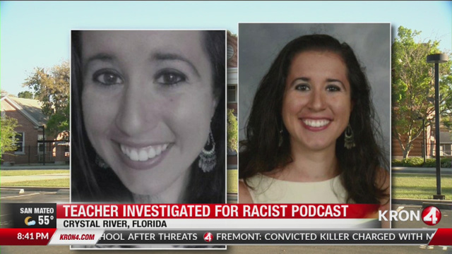 VIDEO: Florida teacher accused of operating racist podcast