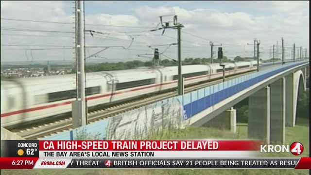 California high speed rail will cost more than originally thought