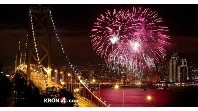 Fireworks Around The Bay – July 4th 2017