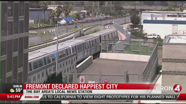 Study: Fremont is happiest city in US