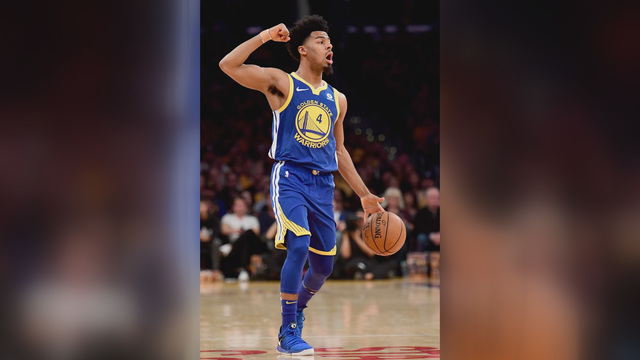 Warriors' Stephen Curry guiding backup Quinn Cook to success