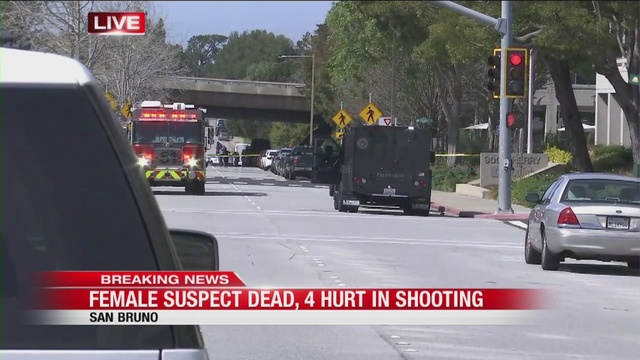 Possible active shooter at Youtube in San Bruno