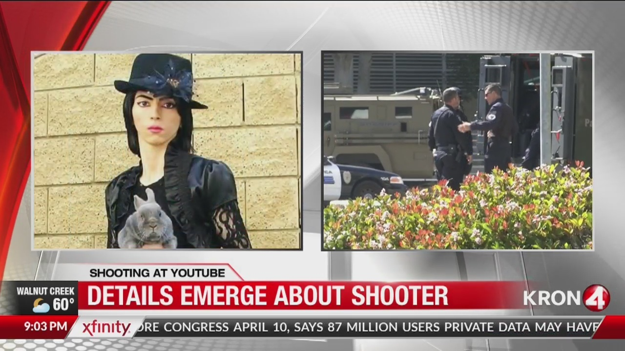 timeline: police say youtube shooter was angry with the company - kron