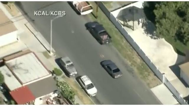 LIVE: Car chase in Long Beach