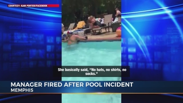 Cops called on black man for wearing socks in community pool, manager fired